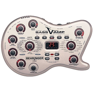 Behringer Bass V-Amp Modeling Preamp w/ Digital Effects