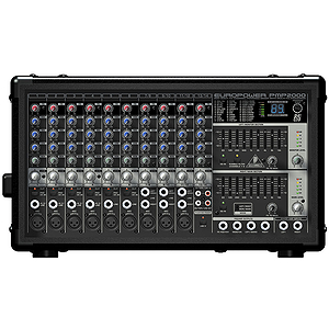Behringer PMP2000 800-Watt 10-Channel Powered Mixer with Multi-FX Processor