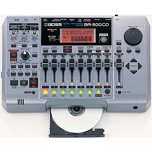 BOSS BR-900CD Digital Multi-track Recording Studio w/CD Burner