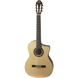Washburn C104SCE Classical Cutaway Acoustic-Electric Guitar