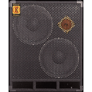 "Eden D212XLT8 XLT Series Bass Amplifier Cabinet - 2x12"", 400-watt, 8 ohm"