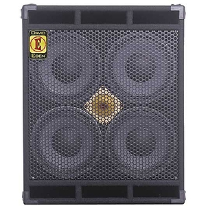 "Eden D410XLT4 XLT Series Bass Amplifier Cabinet - 4 x 10"", 700-watt, 4 ohms"