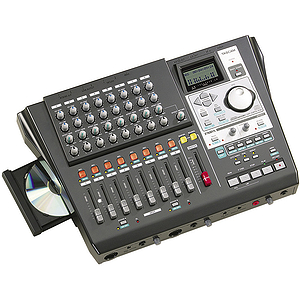 Tascam DP-01FX/CD 8-track Digital Hard Disk Recorder with Portastudio Interface and CD Burner