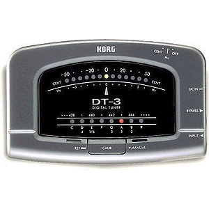 Korg DT-3 Guitar and Bass Tuner