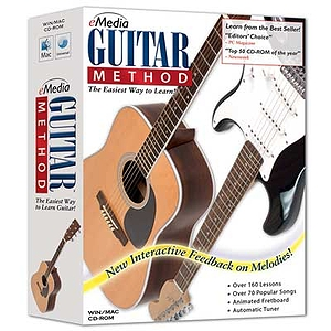 eMedia Guitar Method v5.0 - Guitar Instruction Software - Win/Mac CD-ROM