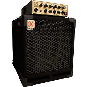 Eden EGRW264 Gig Ready Series Bass Guitar Head & Cabinet - WTX264 Head with EX110 Cabinet