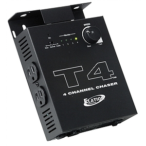 American DJ T4 4-Channel Chase Controller