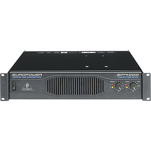 Behringer EP4000 Professional 4,000-Watt Stereo Power Amplifier