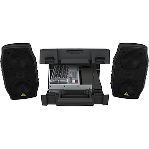 Behringer EPA150 Ultra-Compact 150-Watt 5-Channel Portable PA System with Digital Effects and FBQ Feedback Detection