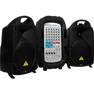 Behringer EPA900 Ultra-Compact 900-Watt 8-Channel Portable PA System with Digital Effects and FBQ Feedback Detection