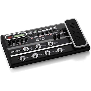 Zoom G7.1ut Multi-Effects Guitar Console w/Tube, USB & Exp. Pedall