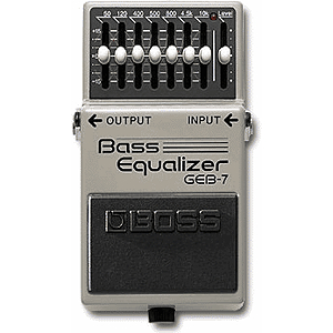 BOSS GEB-7 Bass EQ