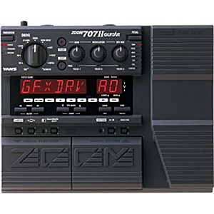 Zoom GFX-707II Guitar Multi-Effect Console w/Drum Machine & Sampler