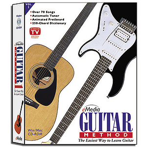 eMedia Guitar Method 1 CD-ROM for Windows/Mac - version 3.0
