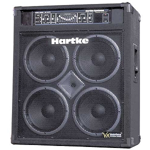 "Hartke VX3500 Bass Combo Amplifier - Hartke 3500 Head w/4x10"" speakers"