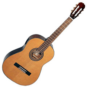 Hohner HC09E Classical Nylon-string Acoustic-Electric Guitar