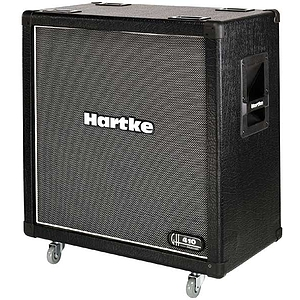 "Hartke GH410 Guitar Amplifier Cabinet - 4x10"" straight, 120-watts"