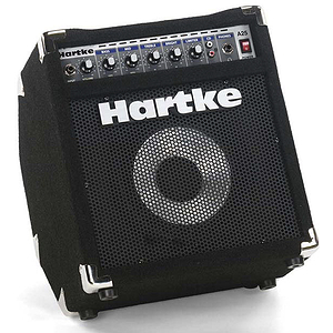 "Hartke A25 Bass Combo Amplifier - 25W, 8"" speaker"