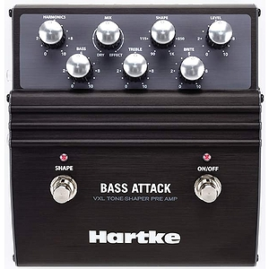 Hartke Bass Attack Bass Pre-Amp/Direct Box