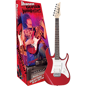 Ibanez Jumpstart IJX40 Electric Guitar Starter Pack - Metallic Red