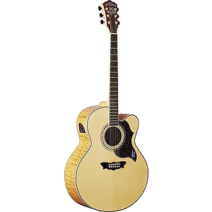 Washburn Cumberland J28SCEDL Acoustic-Electric Jumbo Guitar - w/Case