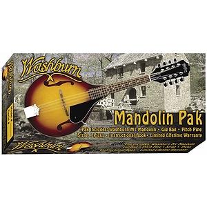 Washburn M1K Mandolin Starter Pack