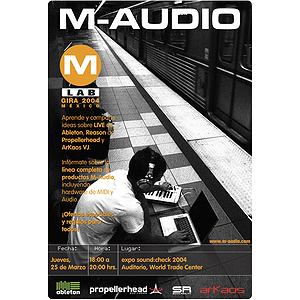 M-Audio Sound Check Vocal Microphone