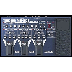 Boss ME-50B Bass Multi-Effect Processor