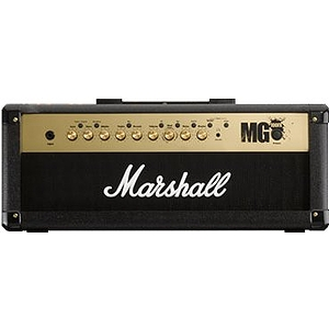 Marshall MG100HFX Guitar Amplifier Head - 100w with DSP effects