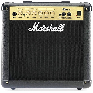 Marshall MG15CD 15-watt Guitar Combo Amplifier