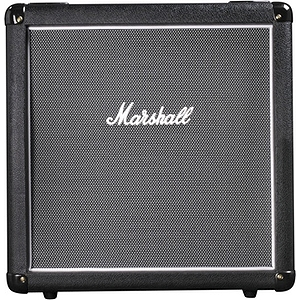 Marshall MHZ112A Guitar Speaker Cabinet - 1x12 Angled Front