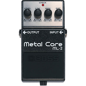 Boss ML-2 Metal Core Heavy Distortion Pedal