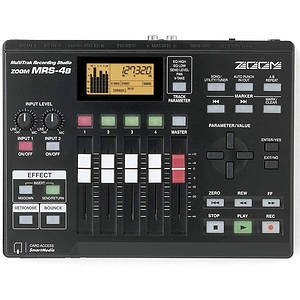 Zoom MRS-4B Digital 4-Track Recorder