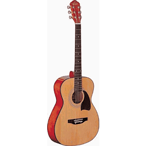 Oscar Schmidt Folk-size Acoustic Guitar - Natural Finish