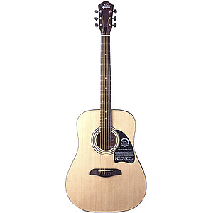 Oscar Schmidt OG2 Spruce-top Dreadnought Acoustic - Natural Finish