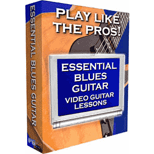 Video Guitar Lessons - Blues 2 (Mac &amp; Windows)