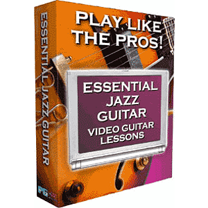 Video Guitar Lessons - Jazz 1 (Mac & Windows)