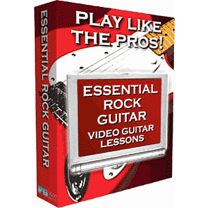 Video Guitar Lessons - Rock 1 (Mac & Windows)