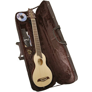 Washburn Rover Travel Guitar - Steel String, Natural