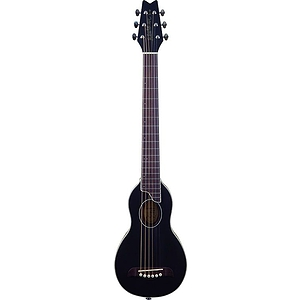 Washburn Rover Travel Guitar - Steel String, Black