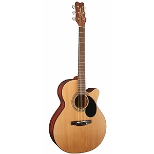 Takamine Jasmine S34C Orchestra-style Acoustic Guitar with Cutaway