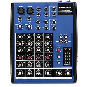Samson MDR624 Compact Mixer