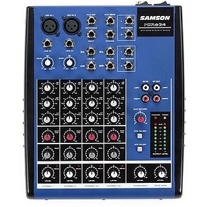 Samson MDR624 Compact Mixer