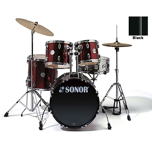 Sonor Force 505 5-piece Studio Drum Set - Black