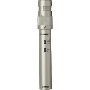 Shure KSM141/SL Dual Pattern Condenser Instrument Microphone