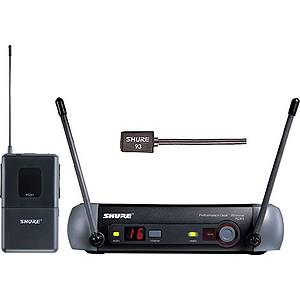 Shure PGX14/93 UHF Wireless Lavalier Mic System