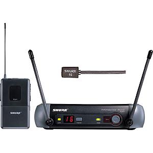 Shure PGX14/93 UHF Wireless Lavalier Mic System