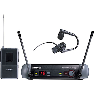 Shure PGX14/BETA98H UHF Instrument Wireless System