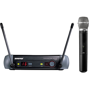 Shure PGX24/SM86 UHF Vocal Wireless Mic System