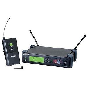 Shure SLX14/84 UHF Wireless Lavalier Mic System